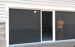 screen garage door